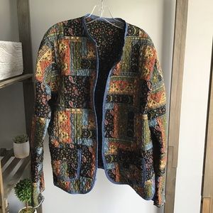 Quilted Bohemian Soft Jacket